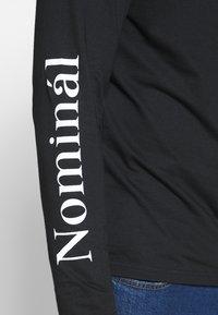 Nominal - REGRETS - Maglietta a manica lunga - black - 5