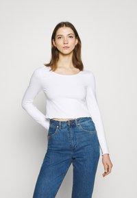 Even&Odd - 2 PACK - Maglietta a manica lunga - black/white - 1