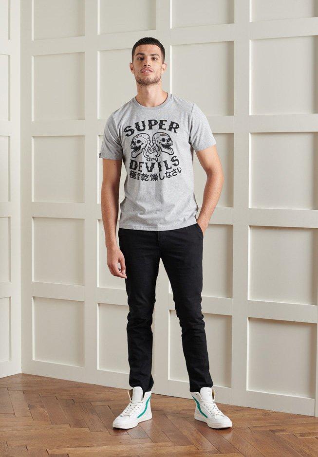 Men ROCKER 9 STANDARD - Print T-shirt