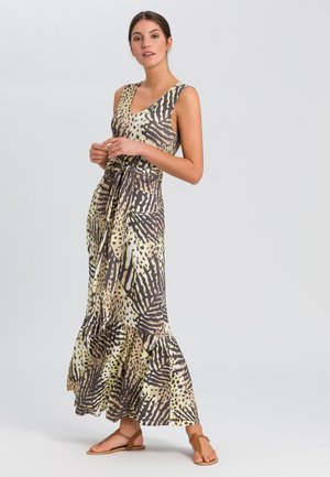 Maxi dress - sand varied