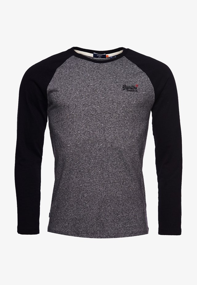 T-shirt à manches longues - karst black mega grit