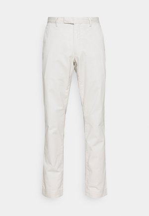 STRETCH SLIM FIT COTTON CHINO - Trousers - dove grey