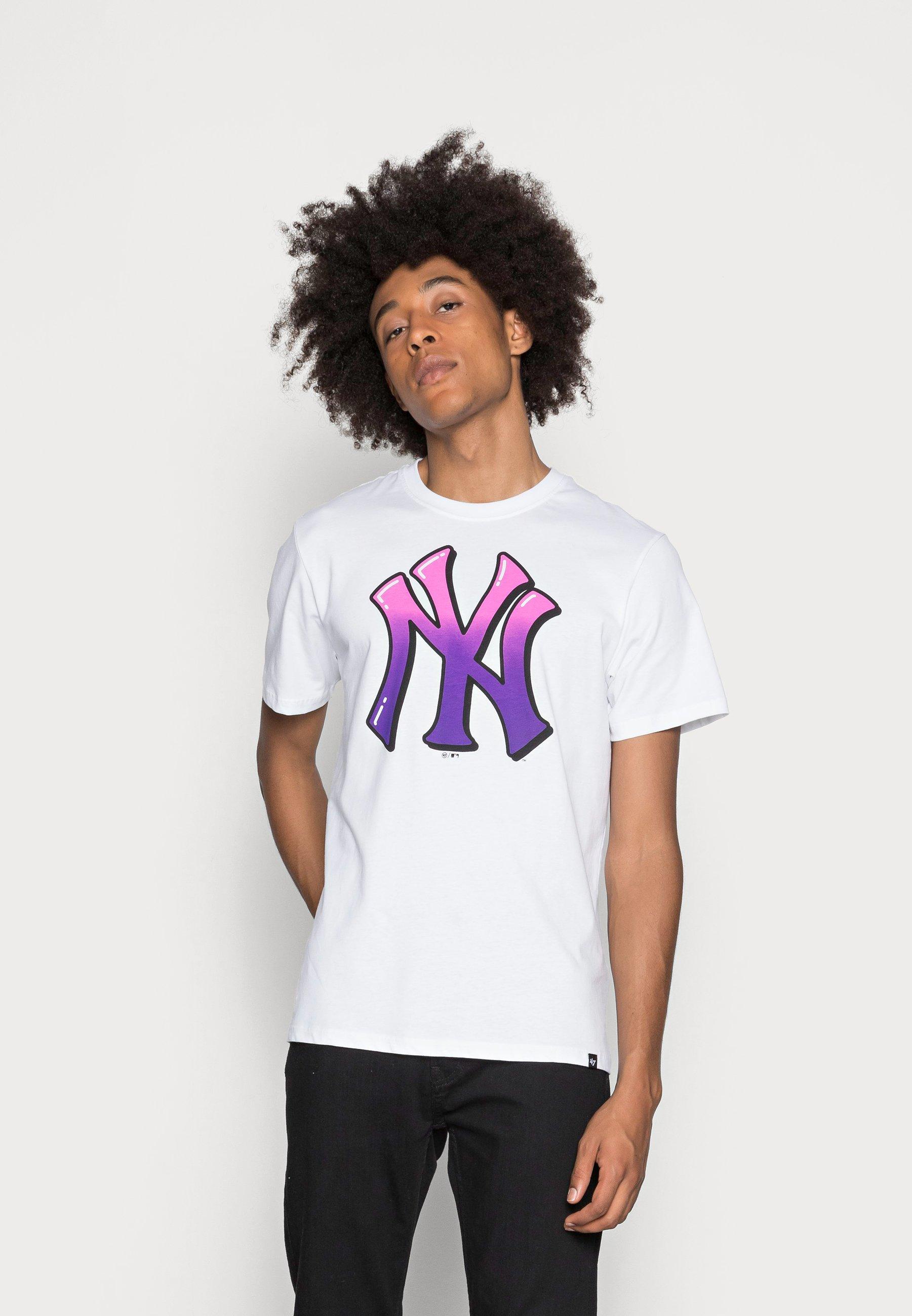 Homme NEW YORK YANKEES BACKER ECHO TEE - T-shirt imprimé