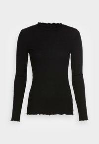 TOM TAILOR DENIM - COSY TEE - Långärmad tröja - deep black - 3