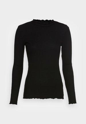 COSY TEE - Långärmad tröja - deep black