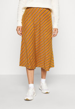 NUBUNTY SKIRT - A-line skirt - buck brown