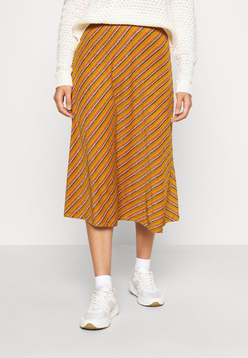 Nümph - NUBUNTY SKIRT - A-line skirt - buck brown