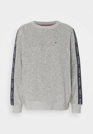AUTHENTIC TEXTURE TRACK - Pyjama top - mid grey heather