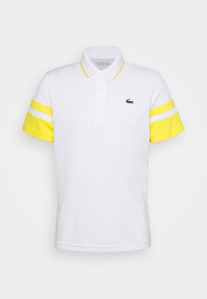 TENNIS - Sportshirt - white/pineapple