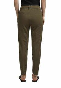 Esprit Collection - Trousers - dark khaki - 7
