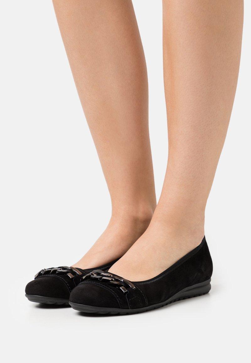 Gabor Comfort - Ballerines - schwarz