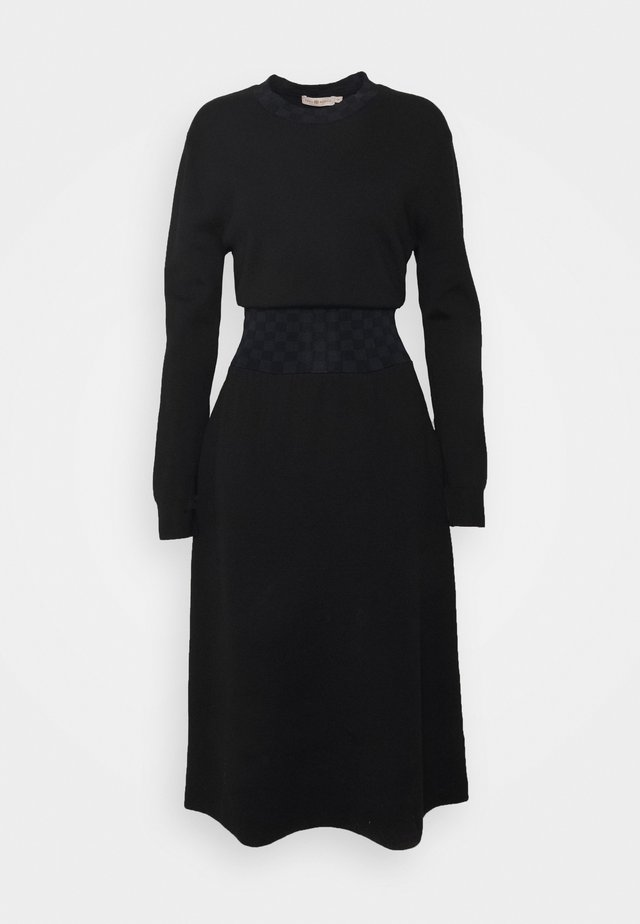 WAIST DRESS - Jumper dress - black
