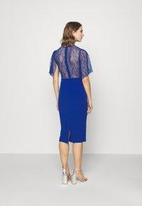WAL G. - RYENA MIDI DRESS - Cocktail dress / Party dress - electric blue - 2
