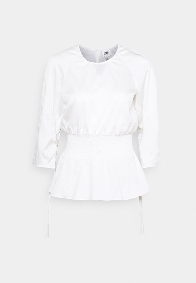 LUCILLE - Blouse - white