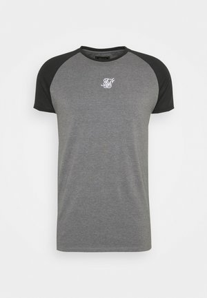 ENDURANCE GYM TEE - Camiseta estampada - black/grey