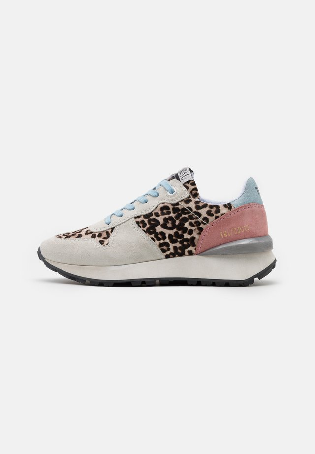 Sneakers basse - offwhite/gris