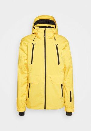 BORAN MENS SNOWJACKET - Kurtka snowboardowa - cyber yellow