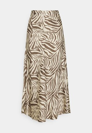 CMWILD - Pencil skirt - beige/brown