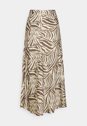 CMWILD - Pouzdrová sukně - beige/brown