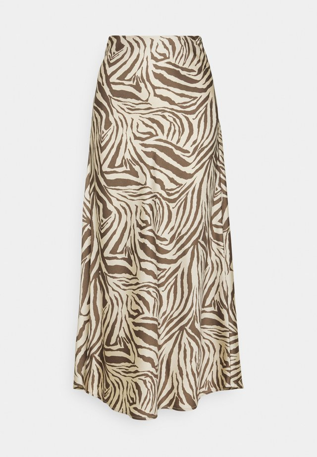CMWILD - Pencil skirt - beige/brown