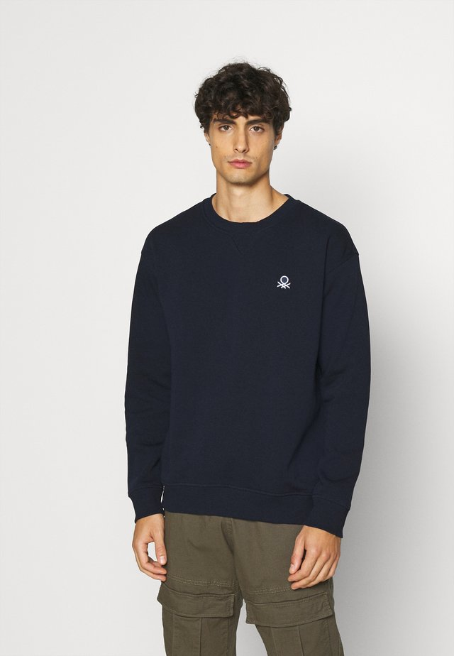 CREW NECK - Sweatshirts - dark blue