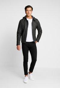 INDICODE JEANS - CHENIES - Faux leather jacket - black - 1