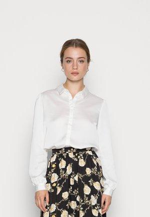 VIELLETTE - Button-down blouse - snow white