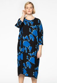 Yoek - Day dress - blue - 0