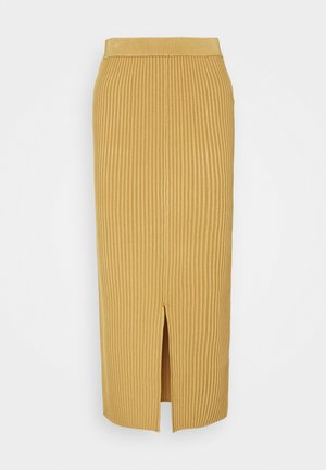 OCTO - Pencil skirt - rattan
