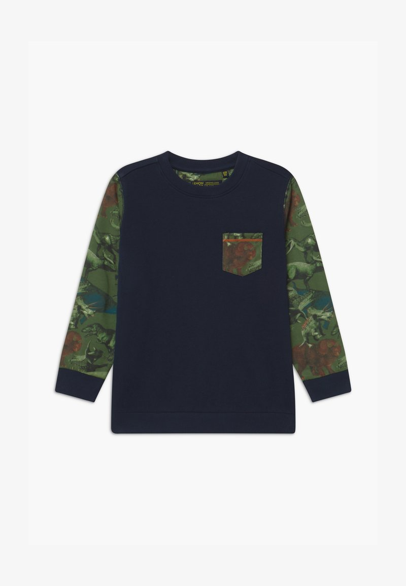 Lemon Beret - SMALL BOYS - Sweater - navy blazer