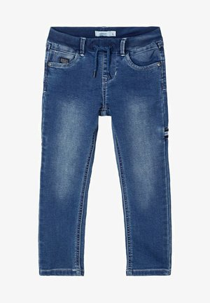 SWEATDENIM - Straight leg jeans - dark blue denim