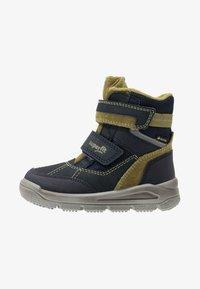 Superfit - MARS - Zimní obuv - blau/grün - 0