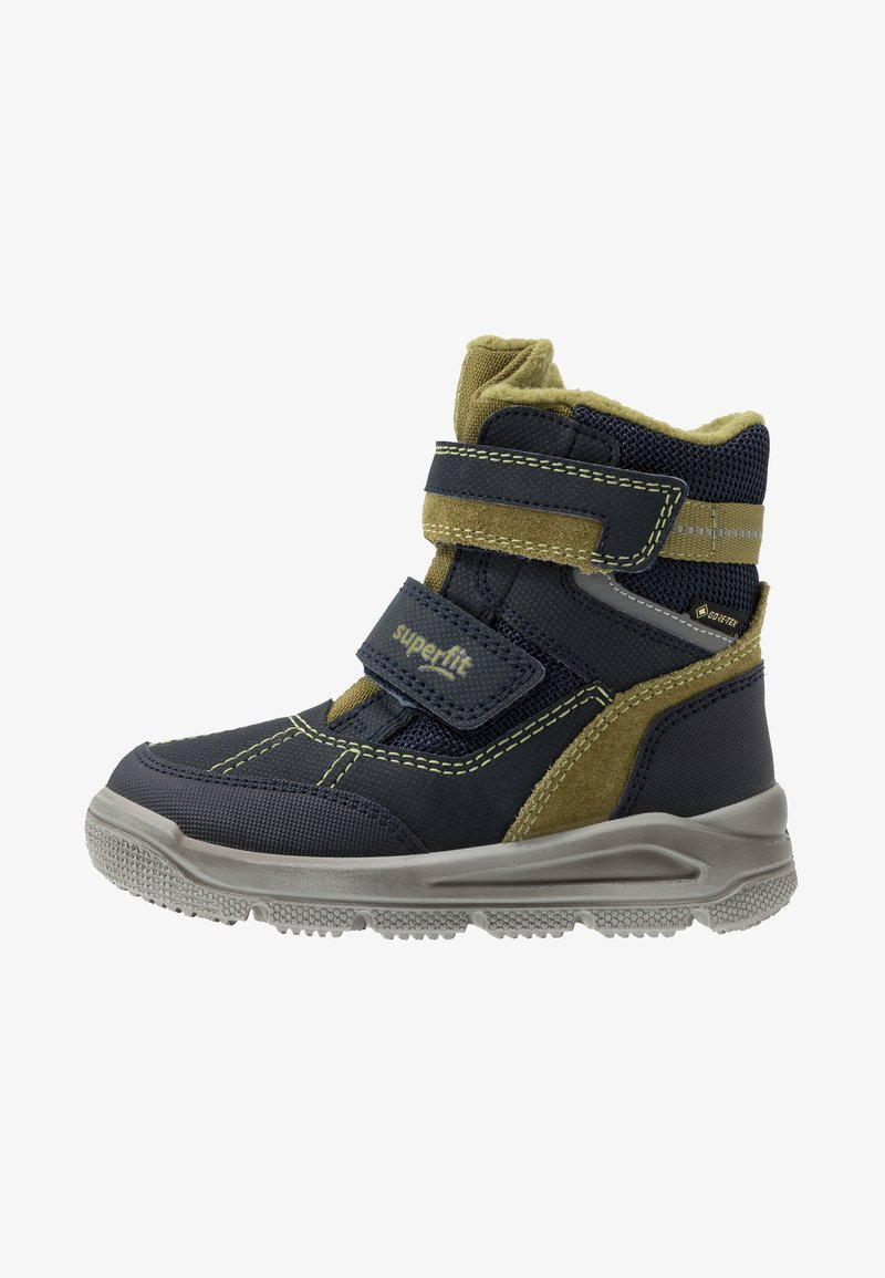 Superfit - MARS - Zimní obuv - blau/grün