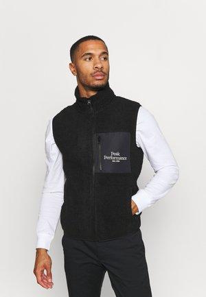 ORIGINAL ZIP VEST - Vest - black