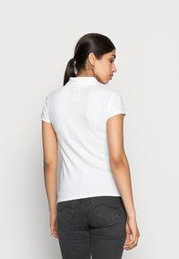 Hollister Co. - SHORT SLEEVE CORE - Poloskjorter - white - 2