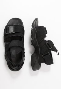 Nike Sportswear - CANYON  - Walking sandals - black