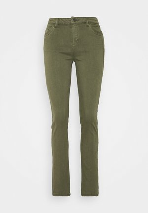 TOUCH - Jeans Skinny Fit - khaki green