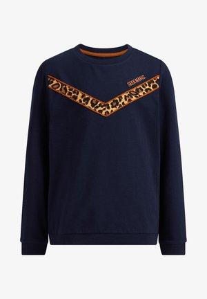 MET COLOURBLOCK - Langarmshirt - dark blue