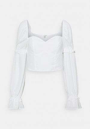 I LIKE THIS ONE BLOUSE - Blůza - white