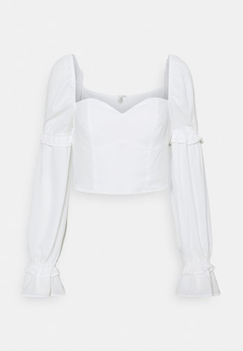 I LIKE THIS ONE BLOUSE - Bluser - white