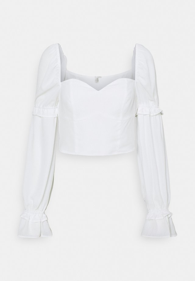 I LIKE THIS ONE BLOUSE - Blouse - white