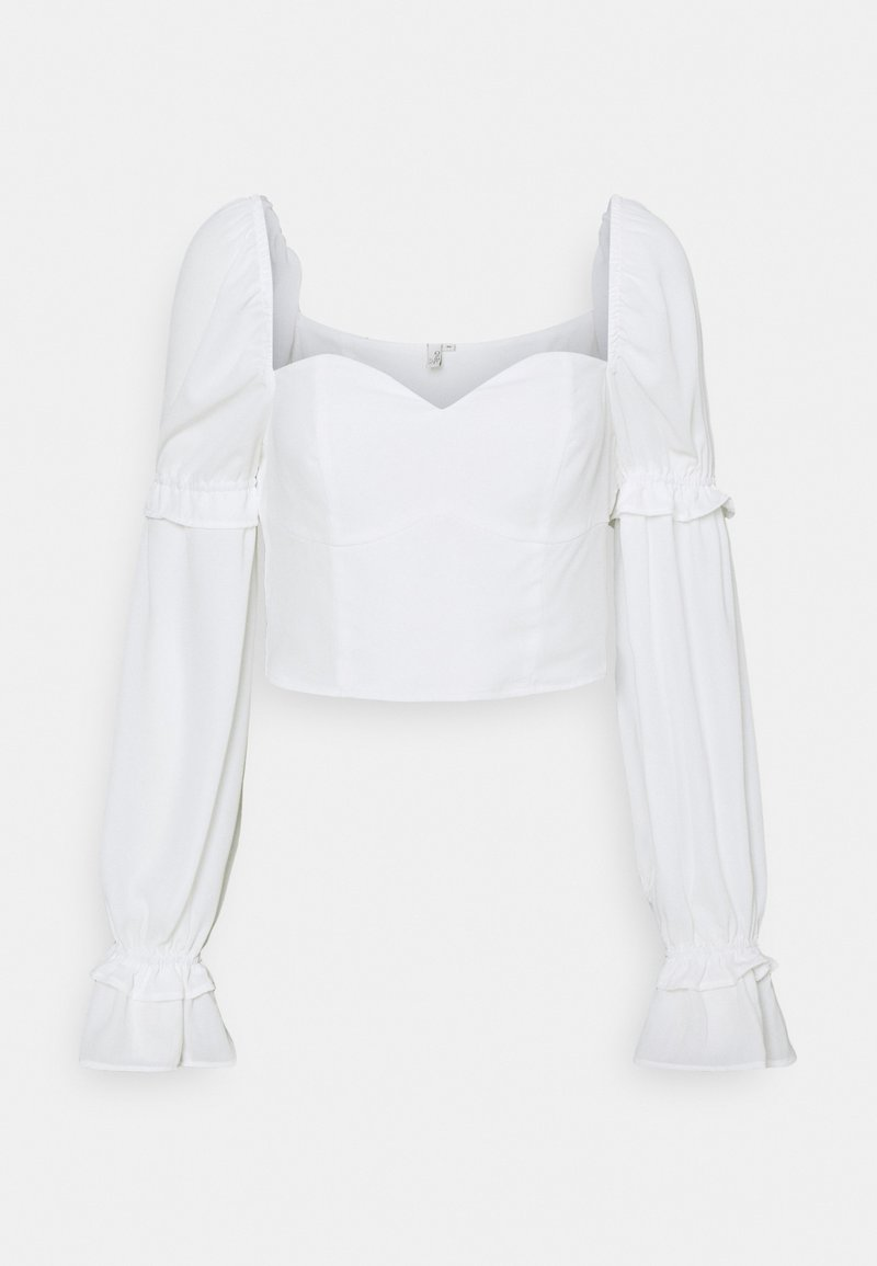 Nly by Nelly - I LIKE THIS ONE BLOUSE - Blouse - white