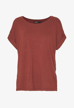 ONLMOSTER ONECK - Basic T-shirt - henna