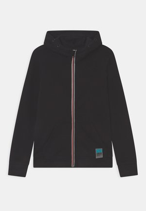 FULL ZIP - Zip-up hoodie - black beauty