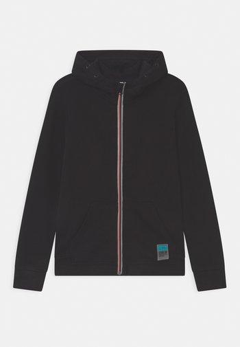 FULL ZIP - Zip-up hoodie - black beauty