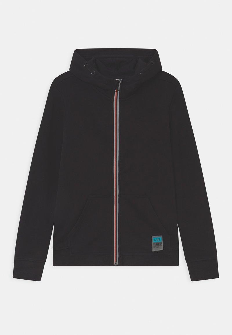 OVS - FULL ZIP - Zip-up hoodie - black beauty
