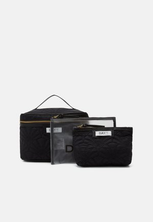 GWENETH Q FAN TONE SET - Trousse - black