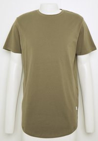 Jack & Jones - JJENOA TEE CREW NECK 5 PACK - Basic T-shirt - crockery/ombr/hawaiia/fade/dusty - 9