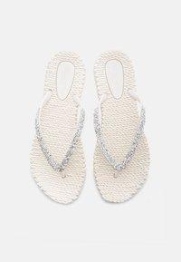 Ilse Jacobsen - T-bar sandals - creme - 3