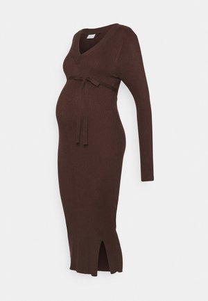 MLZOEY DRESS - Trikoomekko - brown stone